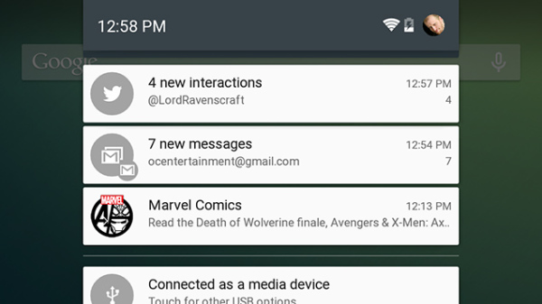 android 5.0 notificaciones