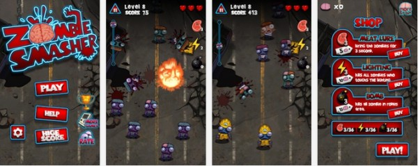 Zombie Smasher para Android