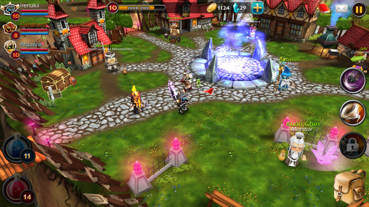 Elements Epic Heroes Juego De Rpg Online Gratis Para Android