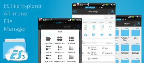 Es File Explorer Android